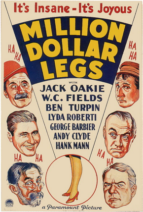 Million Dollar Legs (1932)