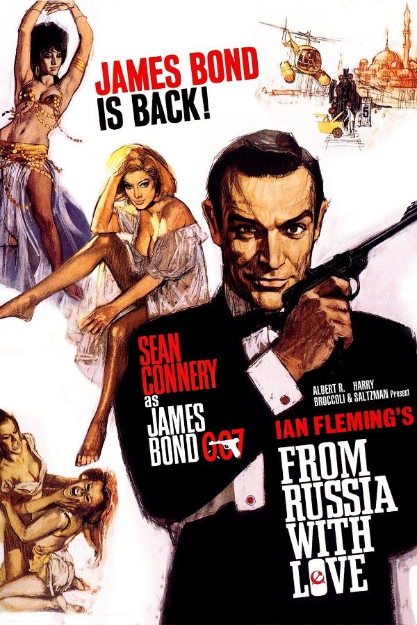 From Russia with Love | one movie | each day