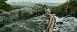 The Two Towrs - Gollum