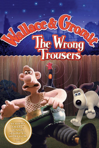 Wallace and Gromit in The Wrong Trousers (1993)