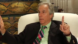 Alas, Henry Winkler explaining how he did something funny can't compare to actually seeing him doing something funny.